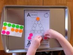 More Than ABC's and 123's: Busy Box activities