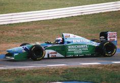 Jos Verstappen - Benetton B194 (Ford) - 1994 - Hockenheim