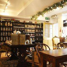 Fifteen of the World's Best Tea Shops: Camellia's Tea House; London