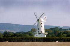 Windmill near Usk Monmouthyshire