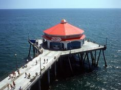 Don't miss Ruby's Restaurant at the end of end of the Huntington Beach Pier. Great view. http://ourtravelingblog.com/2015/12/16/huntington-beach-ca/