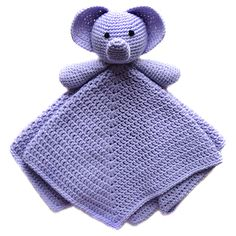 Ravelry: Elephant Security Blanket pattern by Rachel Choi