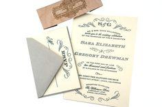 Hoi! Ik heb een geweldige listing op Etsy gevonden: https://www.etsy.com/nl/listing/176051121/vintage-antique-fonts-wedding-invitation