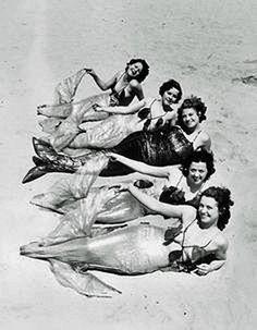 1933 Long Beach mermaids.
