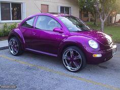 Volkswagen NewBeetle lilatop
