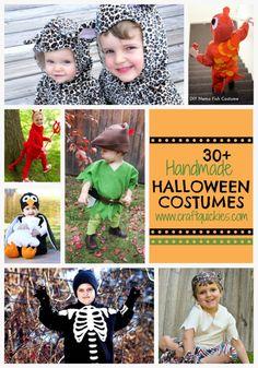 30 Handmade Halloween Costumes from Craft Quickies Ghost Costumes, Cute Costumes, Family Costumes, Costume Ideas, Holidays Halloween, Halloween Party, Happy Halloween, Halloween Ideas, Toddler Halloween