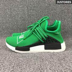 298e8ccc7 Pharrell Williams Adidas NMD human race couple shoes green BB0620 Human Race  Shoes