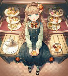 Anime Chibi, Manga Anime Girl, All Anime, Anime Girls, Female Character Design, Character Art, Anime Girl Short Hair, Digital Art Anime, Anime Scenery Wallpaper