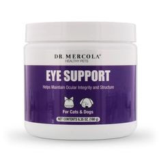 Eye Support for Pets contains a potent blend of health-supporting antioxidants to help take care of your pet's eyesight. http://products.mercola.com/healthypets/eye-support-for-pets/