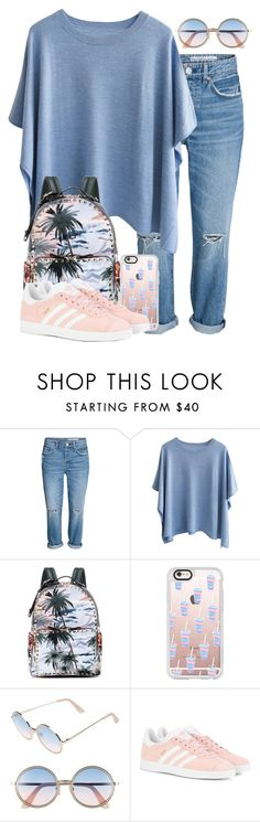 """""""BTS COLLECTION 3/10💕"""" by heyitsfashixn ❤ liked on Polyvore featuring Valentino, Casetify, Sunday Somewhere and adidas Originals"""