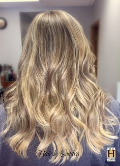 Beautiful ombre/balayage with shadow root color design by Sondra