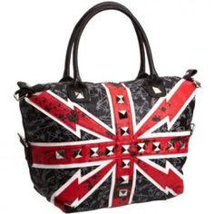 abbey dawn handbags | Abbey Dawn Flag Days Bag by Avril Lavigne