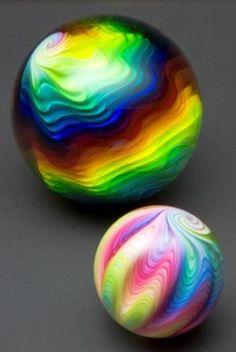 Mark Matthews modern marbles..