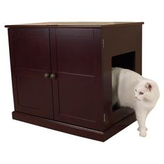 Concord Litter Box Cabinet - Treats for Them & You on Joss & Main