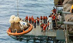 44 años desde que Apolo 13 regresó a la Tierra