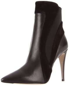 Calvin Klein collection high ankle boot  http://ajreports.com/ilanaankleboot  #calvinklein #ankle boot #leather
