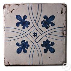 Italian ceramics tile ci3 - restauro collection | Civita Castellana Italian pottery by Surrena: Tile CI3 - Restauro Collection