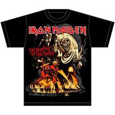 e000eb8ba 29 Best Iron Maiden T-Shirts & Merchandise images | Iron maiden t ...