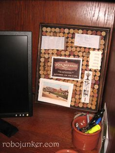 Gives a new meaning to the word Corkboard