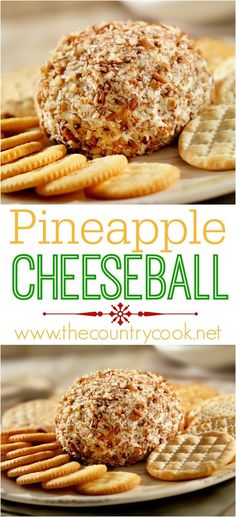 Pineapple Cheeseball recipe from The Country Cook