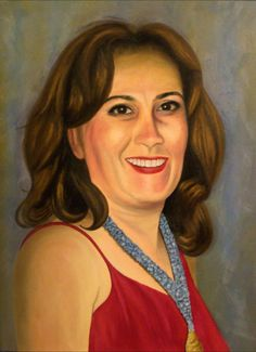 Susana. Oil painting.