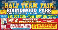 Roundwood Park Fireworks and Funfair