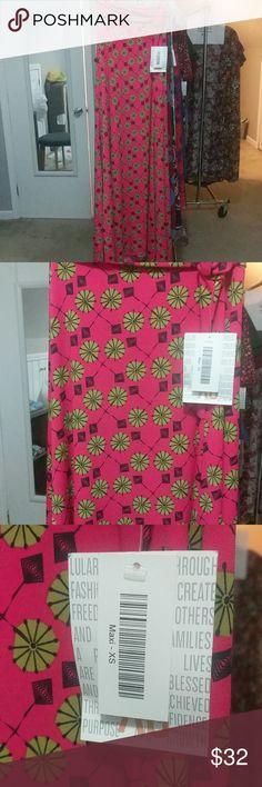 LuLaRoe Maxi XS Skirts Maxi