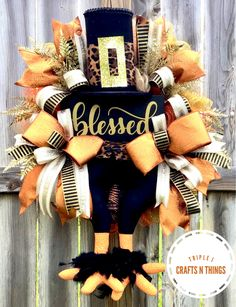 Thanksgiving Centerpieces, Thanksgiving Wreaths, Autumn Wreaths, Fall Wreaths, Christmas Wreaths, Thanksgiving Ideas, Halloween Wood Signs, Fall Wood Signs, Christmas Signs Wood
