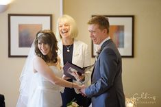 Beautiful shot of our Sue conducting a ceremony for this special couple.