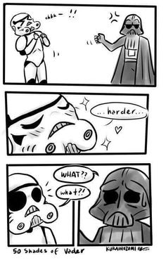 50 Shades of Vader...