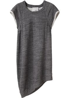 Asymmetrical sweatshirt t