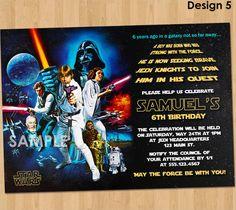 20+ Star Wars Birthday Invitation Templates – Free Sample, Example, Format Download | Free & Premium Templates