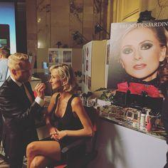 Soirée district party makeupartist#brunodesjardins#