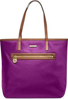 MICHAEL Michael Kors Handbag, Kempton Nylon Large Tote on shopstyle.com