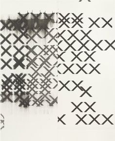 MoMA | The Collection | Wade Guyton. Untitled. 2006