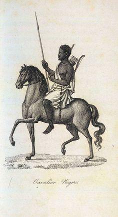 soldier, Senegal, 1780's