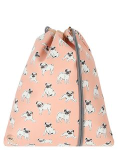 Mi-Pac Kit Bag - Pugs Peach