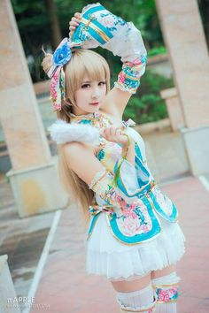 Love Live Kotori Chinese Dress Cosplay