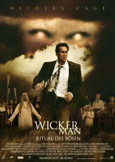 Wicker Man - Ritual des Bösen / The Wicker Man Frances Conroy, Wicker Man, Nicolas Cage, Satire, Horror Movies, Good Movies, Entertaining, Movie Posters, Occult