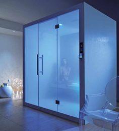 Tutto il #benessere di una spa direttamente a casa propria, in uno spazio compatto e a misura dei tuoi desideri. Scopri il #relax di Steam lounge:http://bit.ly/1HVGlpG #wellness