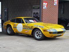 Racing Ferrari Daytona at Carfest