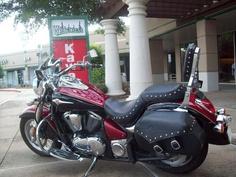 2008 Vulcan 900 Classic LT - just like mine.  Wow do I love this bike!