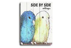 Side by Side on OneKingsLane.com