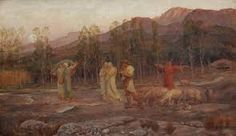 """loumargi: """"Sir William Blake Richmond a pastoral a memory of the valley of sparta """" William Blake, Feeling Special, Pablo Picasso, Past, Memories, British Artists, Paintings, Google Search, People"""