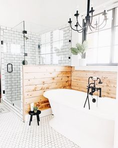 Are you searching for inspiration for farmhouse bathroom? Browse around this site for unique farmhouse bathroom inspiration. This particular farmhouse bathroom ideas seems completely superb. Bad Inspiration, Bathroom Inspiration, Bathroom Ideas, Bathroom Designs, Bathroom Organization, Bathroom Storage, Bathroom Cabinets, Bathroom Cleaning, Bath Ideas