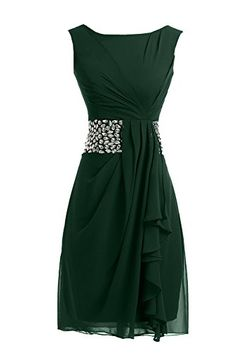 Sunvary 2014 Short Cocktail Dresses Mother of the Bride Dresses Chiffon - US Size 10- Dark Green Sunvary http://www.amazon.com/dp/B00L23LW06/ref=cm_sw_r_pi_dp_Lh7cub1Q4GMET