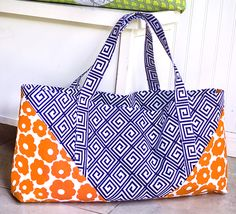 Motley Tote by SewCanShe.com