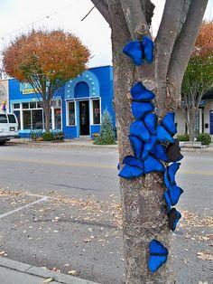 textile street art