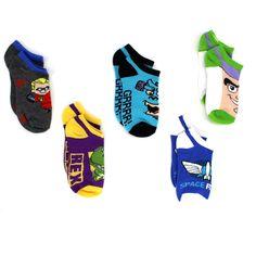 Toy Story Incredibles Monsters Inc Boys 5 Pack Ankle Socks F5904F 6-8 #DisneyPixar #AnkleSocks #Yankeetoybox #FunStartsHere  #EverythingCharacter www.yankeetoybox.com  boys boy