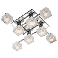 Found it at AllModern - 8 Light Flush Mount